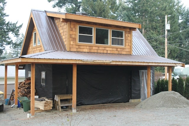 Carriage House Double Garage