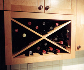 Microwave Wine Rack